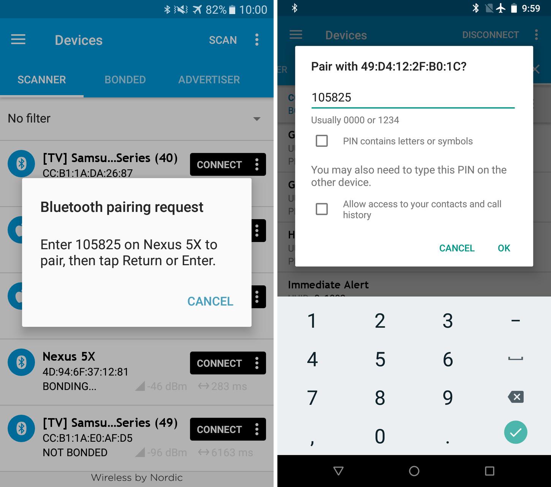 EN] BLE mobile application independent access – LogicalTrust